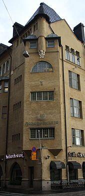 Fabianinkatu 17 - Casa sulla Fabianinkatu   E. Saarinen   Helsinki