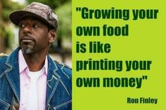 Growing your own food is like printing your own money! Visionary & Urban Gardening Hero, Ron Finley grows a nourishing food culture in South Central L. Ted Speakers, Los Angeles Neighborhoods, We Can Do It, Grow Your Own Food, Grow Food, Guerrilla, Videos, The Neighbourhood, Wisdom