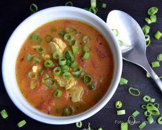 10 skønne og varme supper i vinterkulden. Cheeseburger Chowder, Food Inspiration, Thai Red Curry, Soup, Healthy Recipes, Ethnic Recipes, Dessert, Health Recipes, Healthy Food Recipes
