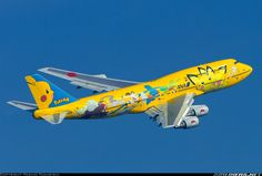 ANA Boeing 747-481D Pokemon aircraft picture.