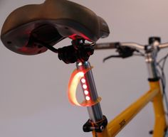 LightSkin Built-in Bicycle Tail Light