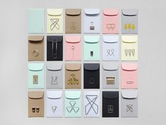 It& the little things . A paper clip advent calendar from wi . Stationery Items, Stationery Design, Office Stationery, Do It Yourself Inspiration, Design Inspiration, Calendar Design, Paper Clip, Packaging Design, Presents