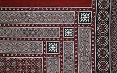 Ajrak Sindhi: اجرڪ by Abdul Hakeem Memon, via Flickr