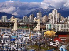 My absolute favorite metropolitan city.  Vancouver, (Beautiful) British Columbia!