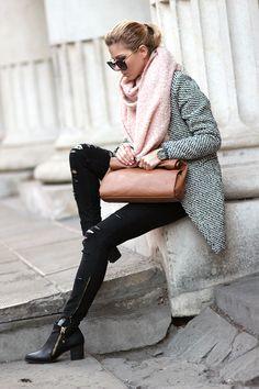 Mix of neutrals / coat Sheinside http://www.sheinside.com/Black-White-Notch-Stand-Collar-Long-Sleeve-Oversize-Coat-p-144640-cat-1735.html , sunglasses Choies http://www.choies.com/product/vintage-sunglasses-with-metal-arrow-in-black , ankle boots Choies http://www.choies.com/product/black-zip-ankle-boots-with-ponyskin