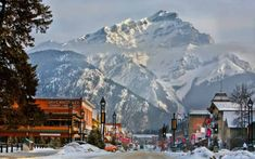 This Winter's Best Ski Trip Is Canada's Banff, Alberta Banff National Park, National Parks, Real World Games, Cool Places To Visit, Places To Go, Winter Mountain, Going On Holiday, Winter Holiday, Hill Station