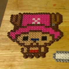 Tony Chopper One Piece perler beads by somethingsweet16