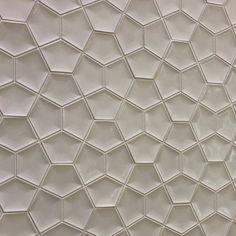 Ann Sacks Ogassian Penta 3d tile #neocon13 #neoconography #interiordesign