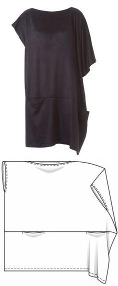 29 ideas sewing inspiration diy dress patterns for 2019 Sewing Patterns Free, Clothing Patterns, Sewing Tutorials, Dress Patterns, Sewing Dress, Diy Dress, Sewing Clothes, Shirt Dress, Trendy Dresses