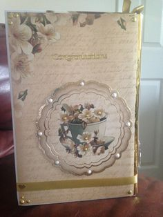 Back of 50th wedding anniversary book