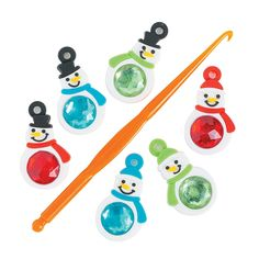 Snowman+Rhinestone+Charms+-+27mm+-+OrientalTrading.com