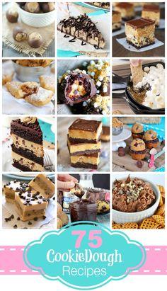 75 Amazing Cookie Dough Recipes  | beyondfrosting.com