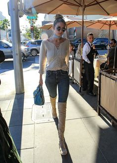 Quick, Pull a Gigi Hadid and Get Winter's Best Boots Before They're Gone