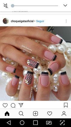 Cute Acrylic Nail Designs, Cute Acrylic Nails, Cute Nails, Nail Art Designs, Acrylic Gel, Glam Nails, Diy Nails, Beauty Nails, Fabulous Nails