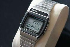 Retro Watches, Vintage Watches, Watches For Men, Men's Watches, Nerd Chic, Digital Watch, Seiko, Casio Watch, Apple Watch