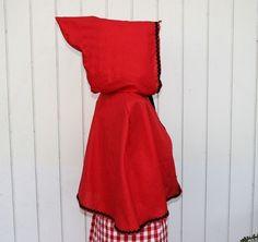 red riding hood's hood.