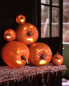 funny pumpkin heads