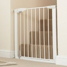 Best Baby Gates For Stairs 2021 Top And Bottom Baby Gates Expert Best Baby Gates Baby Gate For Stairs Baby Gates