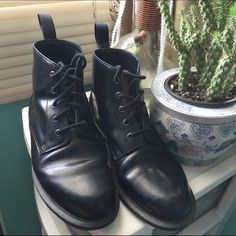 Emmeline docs 9 W 9w/ 7 m new, only worn a few times Dr. Martens Shoes Ankle Boots & Booties