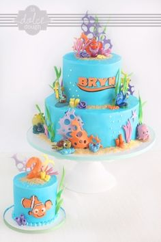 Finding Nemo By xxkristaxx on CakeCentral.com