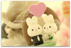 Love rabbit and bunny with arch Wedding Cake Topper   Flickr – Compartilhamento de fotos!