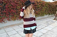 Sweater + skirt