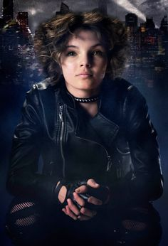 Acting newcomer Camren Bicondova is Selina Kyle aka the future Catwoman. She is a teenage orphan who is suspicious and wholly unpredictable. A street thief and skilled pickpocket, she's dangerous when cornered.