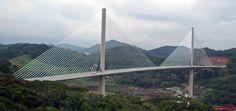 Panama - The Centennial Bridge Cable Stayed Bridge, Group Projects, Panama Canal, Bridges, Roads, Service Design, Countries, Architecture, Suspension Bridge