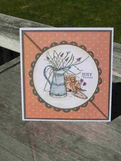 NT's Challenge for Janice by auntynanny - Cards and Paper Crafts at Splitcoaststampers Friend Cards, Cards For Friends, Long Time Friends, Color Card, Stamp Sets, Card Designs, Flower Cards, Stampin Up Cards, Autumn Leaves
