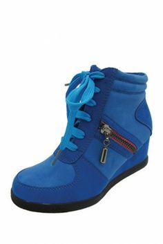 Yoki Wedge Sneaker (Little Kid)