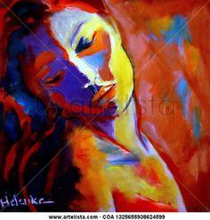 Concealed sorrows Helenka Wierzbicki- Artelista.com - en