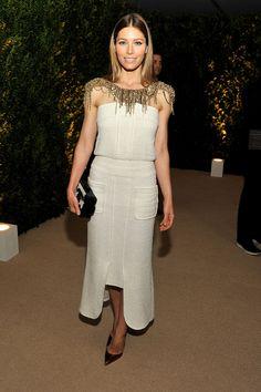 Las mejor vestidas de la semana - Jessica Biel - Chanel