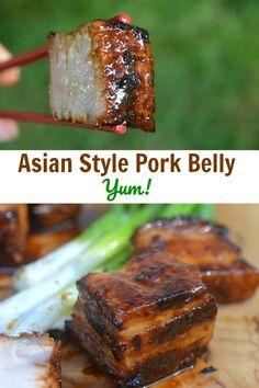 Vide Asian Pork Belly - Good Eats: Tried & True Recipes -Sous Vide Asian Pork Belly - Good Eats: Tried & True Recipes - Easy Baked Pork Belly Sous Vide Pork, Sous Vide Cooking, Sous Vide Burgers, Cooking Oil, Pork Recipes, Cooking Recipes, Asian Pork Belly Recipes, Recipies, Cooking Stuff