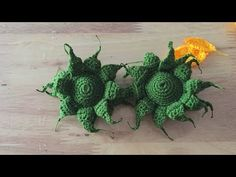 Crochet Flower Tutorial, Crochet Flower Patterns, Crochet Flowers, Crochet Sunflower, Crochet World, Bouquets, Cactus Plants, Crochet Stitches, Orchids