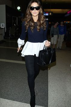 Kate Beckinsale Does Airport Style Like A Pro At LAX Airport, 2015