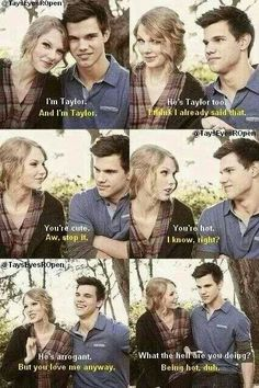 They're so cute! I miss Taylor Squared! I hope Taylor Swift doesn't see this. Don't want to bring back bad memories.