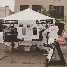 From our first event george streetfest in St George #shirt #kwotzwear #utah #friday #streetfest