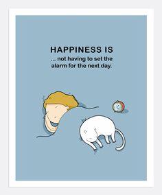 True Happiness Print A4   Lingvistov