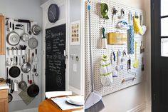 Como usar o pegboard na decoração e organização da casa - Casinha Arrumada