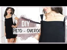 How to make the easiest pichi in the world The fabric used for this bib is crepe … - Do it Yourself Clothes Sewing Clothes, Diy Clothes, Presents For Men, Couture, Free Pattern, Camisole Top, Breast, Tank Tops, Fabric