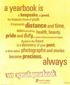 Yearbook is ...poster 3 Herff Jones Marketing