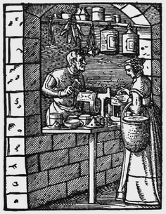Jost Amman: Lantern-maker, 1568