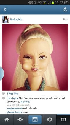 Oh no not Barbie