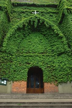 Green church, Buenos Aires, Argentina