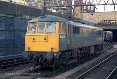85004 (ex at London Euston on Dec Built at Doncaster Works and delivered on July Re designated and renumbered 85111 in Nov 1989 as a freight only loco. Withdrawn on March 1990 and cut up at MC Metals, Glasgow on Sept Electric Locomotive, Diesel Locomotive, Euston Station, Electric Train, British Rail, Great Britain, Glasgow, Journey, London