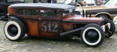 """Ford Model A """"rat rod"""" 1929 The material which I can produce is suitable for different flat objects, e.g.: cogs/casters/wheels… Fields of use for my material: DIY/hobbies/crafts/accessories/art... My material hard and non-transparent. My contact: tatjana.alic@windowslive.com web: http://tatjanaalic14.wixsite.com/mysite"""
