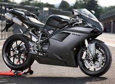 Ducati 848 grey and black