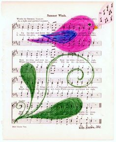 This birdie can carry a tune.