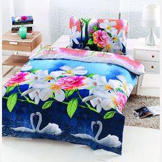 Bavlněné povlečení 140x200 cm   Vícebarevné Comforters, Blanket, Bed, Home, Creature Comforts, Quilts, Stream Bed, Ad Home, Blankets