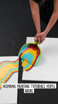 Diy Crafts Hacks, Diy Home Crafts, Diy Arts And Crafts, Crafts To Do, Cool Paper Crafts, Diy Resin Crafts, Diy Painting, Art Painting Gallery, Easy Canvas Art